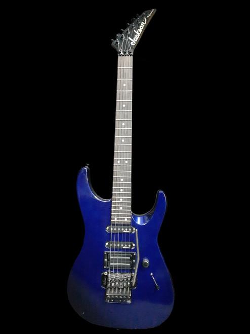 Jackson Fushion SS FR Electric Guitar Blue