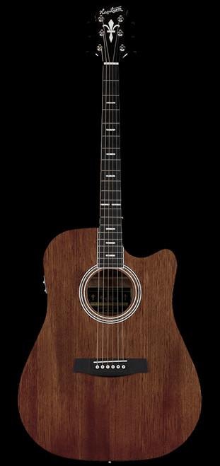 Hagstrom Mora II Mahogany Electric/Acoustic Guitar