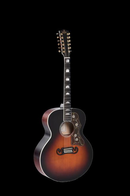 Sigma GJA12-SG200 12 String Electric/Acoustic Guitar
