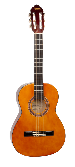Valencia 100 Series Classical Acoustic Guitar 3/4 Size Natural Gloss