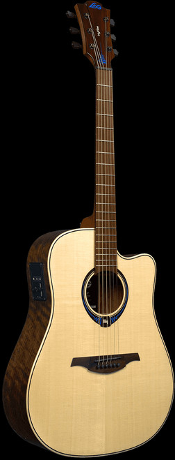 Lag HYVIBE 20 Smart Electric/Acoustic Guitar with Built-in Effects