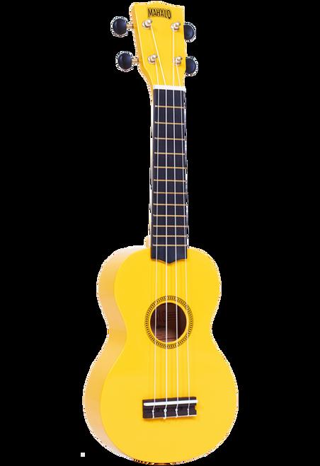 Mahalo Rainbow Series Soprano Ukulele Yellow