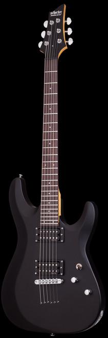 Schecter C-6 Deluxe Electric Guitar Satin Black