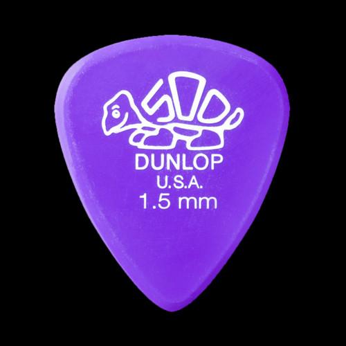 Dunlop Delrin 500 Standard Pick 1.5MM