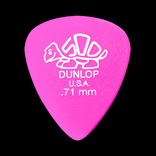 Dunlop Delrin 500 Standard Pick 0.71MM