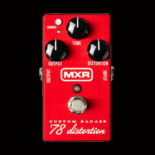 MXR® Custom Badass™ '78 Distortion Guitar Effects Pedal