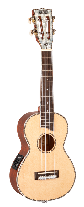 Mahalo Pearl Series Concert Ukulele Electric/Acoustic