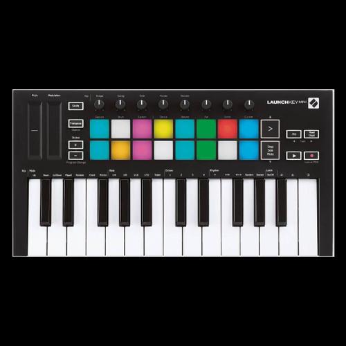 Novation Launchkey Mini MK3 Compact & Portable 25-Key MIDI Keyboard Controller