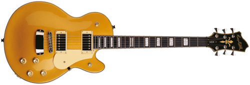 Hagstrom Swede Series HSSWE Gold Top Electric Guitar