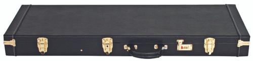 V-CASE  Rectangular Plywood Guitar Case for Strat/Tele - Black Vinyl Heavy Duty
