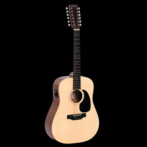 Sigma DM12E 12 String Electric/Acoustic Guitar