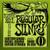 Ernie Ball Nickel Wound Electric Guitar 10/46 Regular Slinky Strings