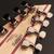 Cort KX508MS 8-String Multi-Scale Electric Guitar Marina Blue Burst