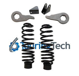 """Rear Air to Coil Spring Conversion Kit w/ 1-3""""F / 2"""" Rear Lift Kit and Shock Extenders #TT-G201R+FO-G30220R+FO-G102F+FO-G302FBR"""