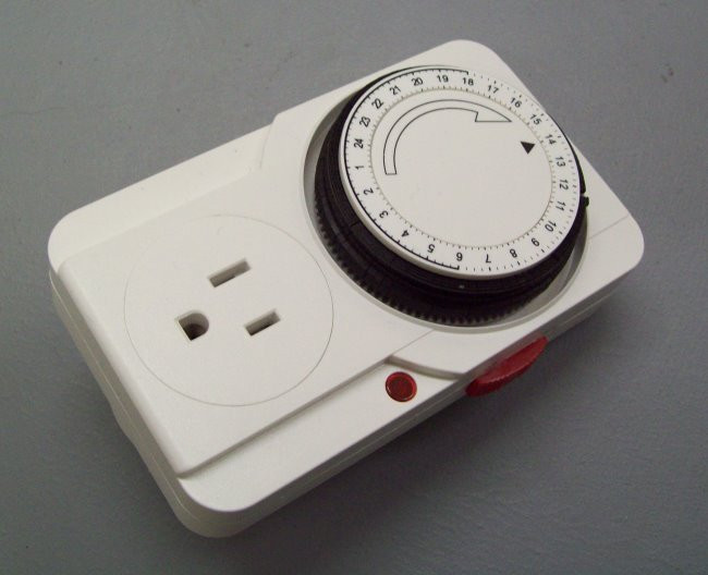 Analog programmable timer for super feeder or other application (timer style may vary but same specs)