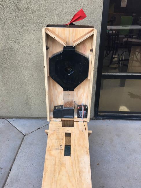 CSF-3XL in outdoor wood enclosure