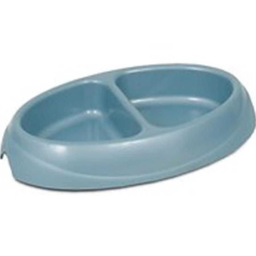double compartment bowl