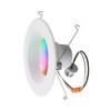 LIS Smart LED Light Bulb, Dimmable, Multicolor, 13 W, 120 V, 900 lm, 2700K-5000K, E26 Base (LIS-DLC1000e)