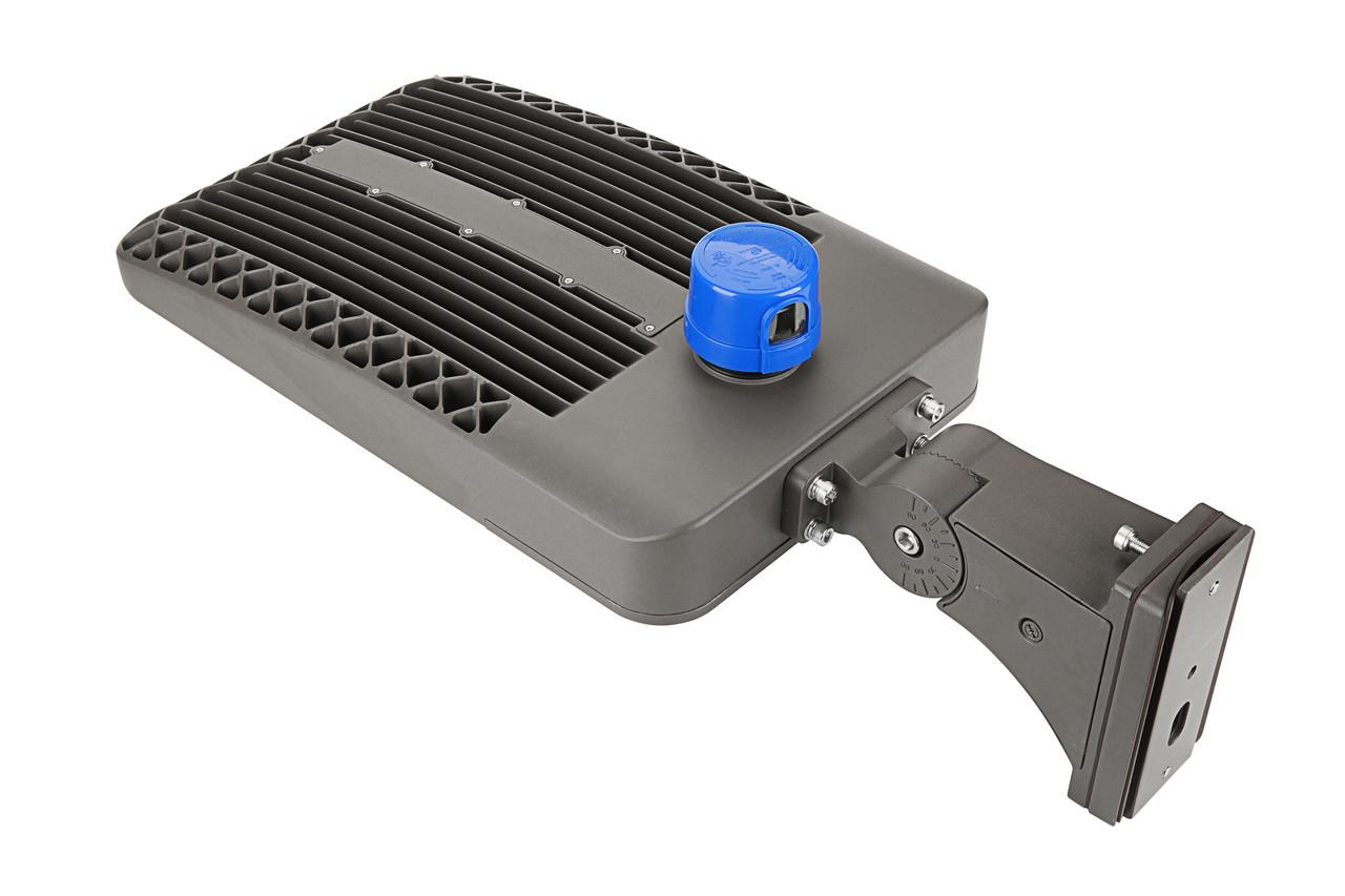LED Shoe Box, 300 watt, 39000 lumen, 100-277 volt, 5000 Kelvin, UL and DLC Listed, Dimmable