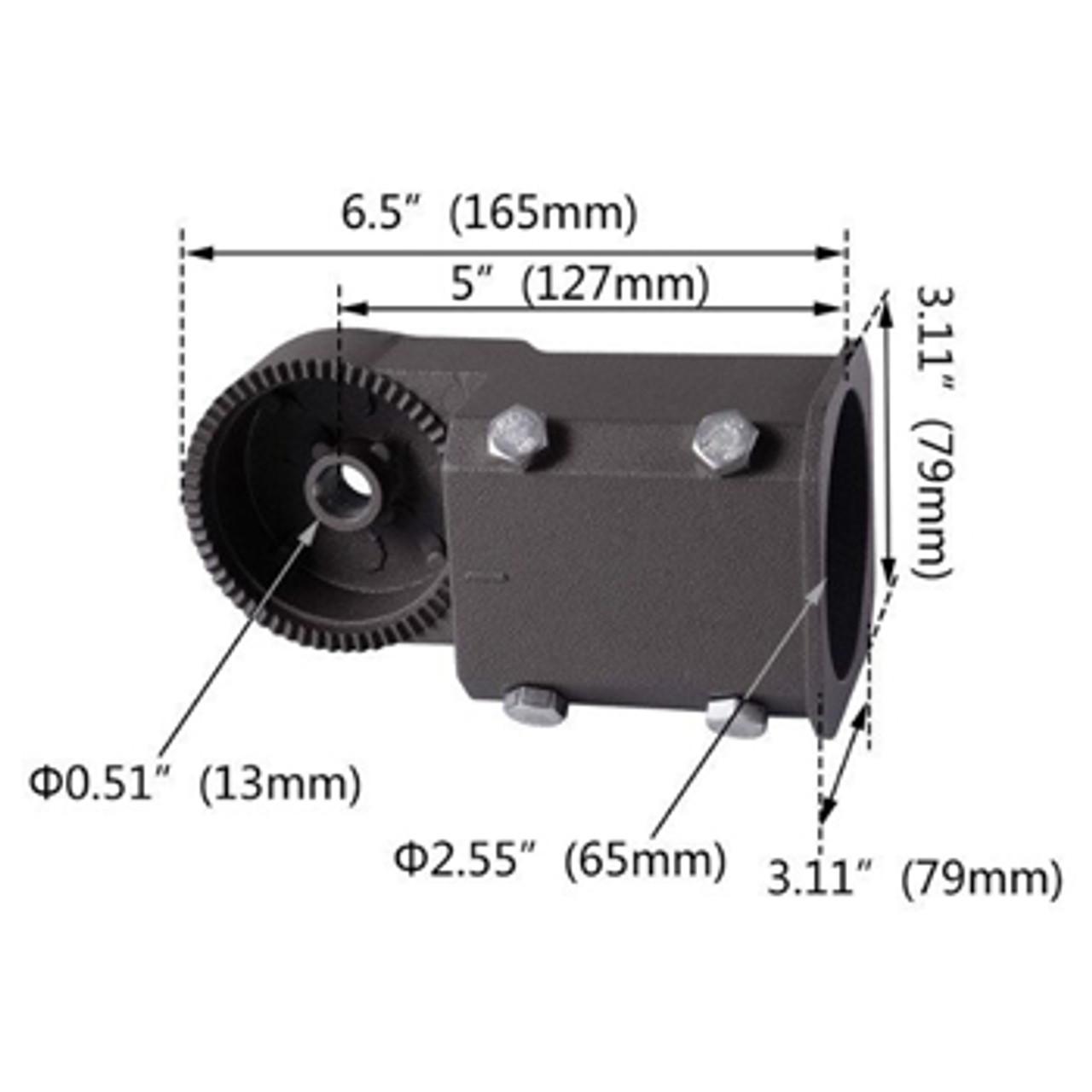 Adjustable Mount Slip Fitter Dimensions