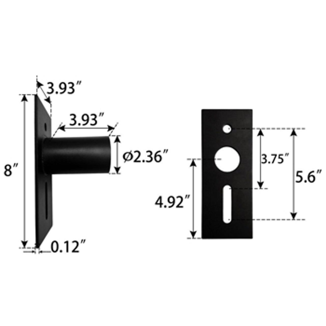 Slip Fitter Adaptor Dimensions