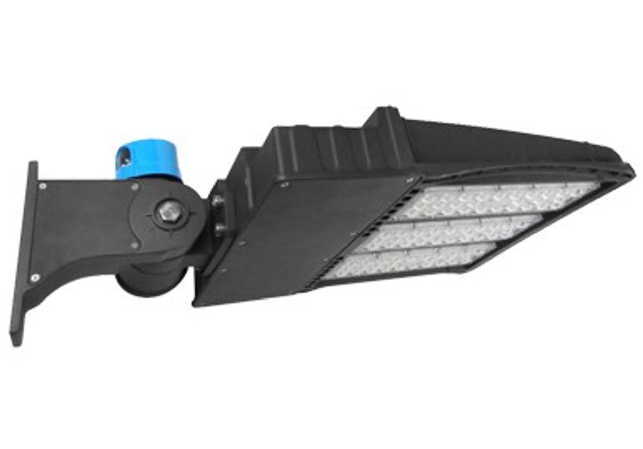 5000 Kelvin UL DLC Lis 27,000 lumen LED Shoe Box Light 200 watt 200-480 volt