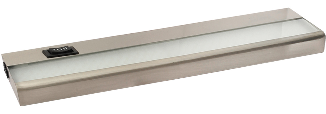 "12"" 5 Watt, 380 lumens, LED Linkable Under Cabinet - Nickel"