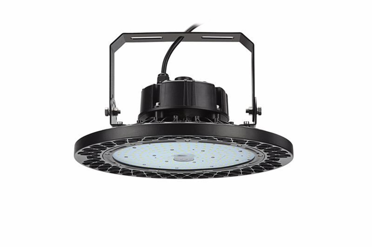 UFO LED High bay with adjustable bar hanger