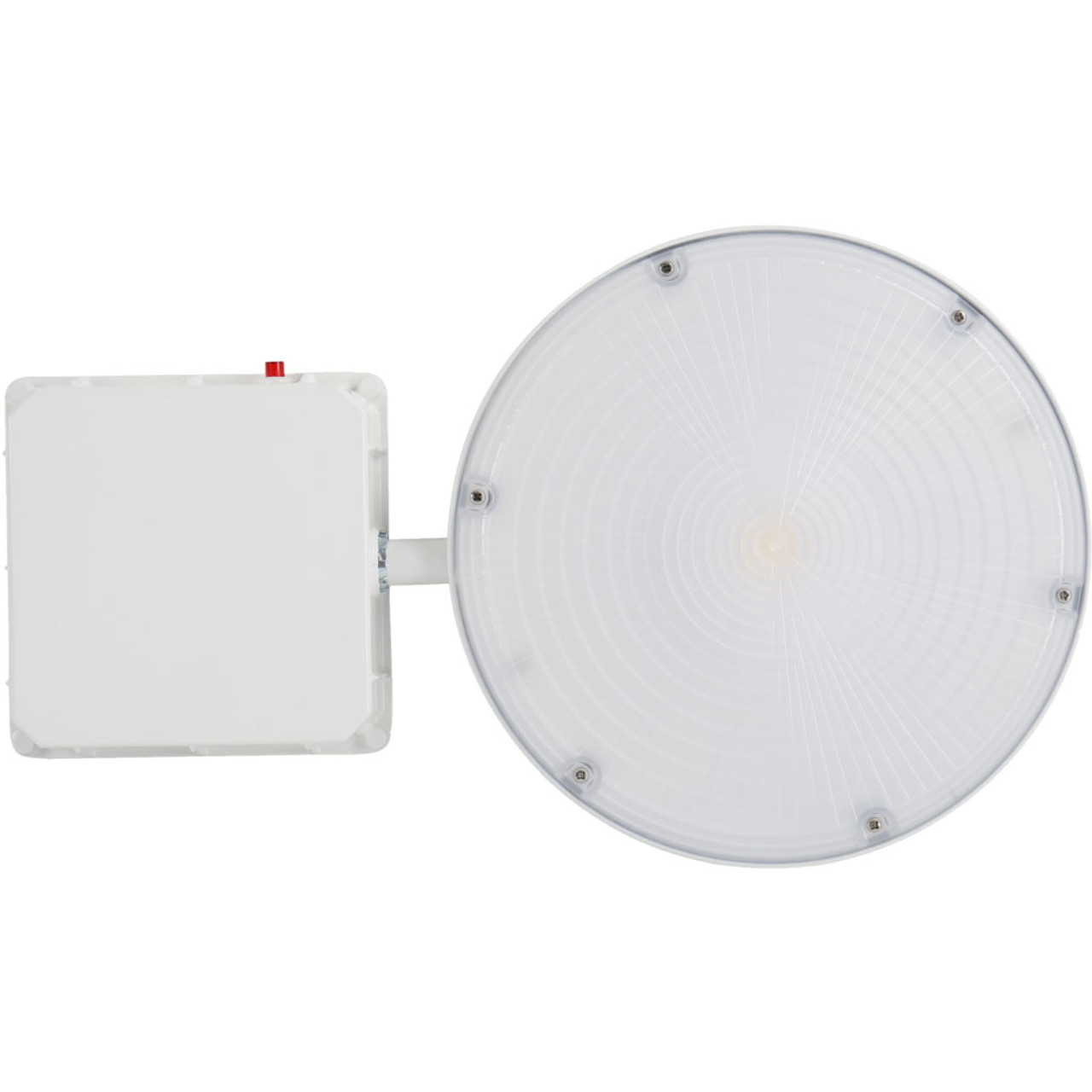 Round Canopy LED Light - Emergency and motion sensor available