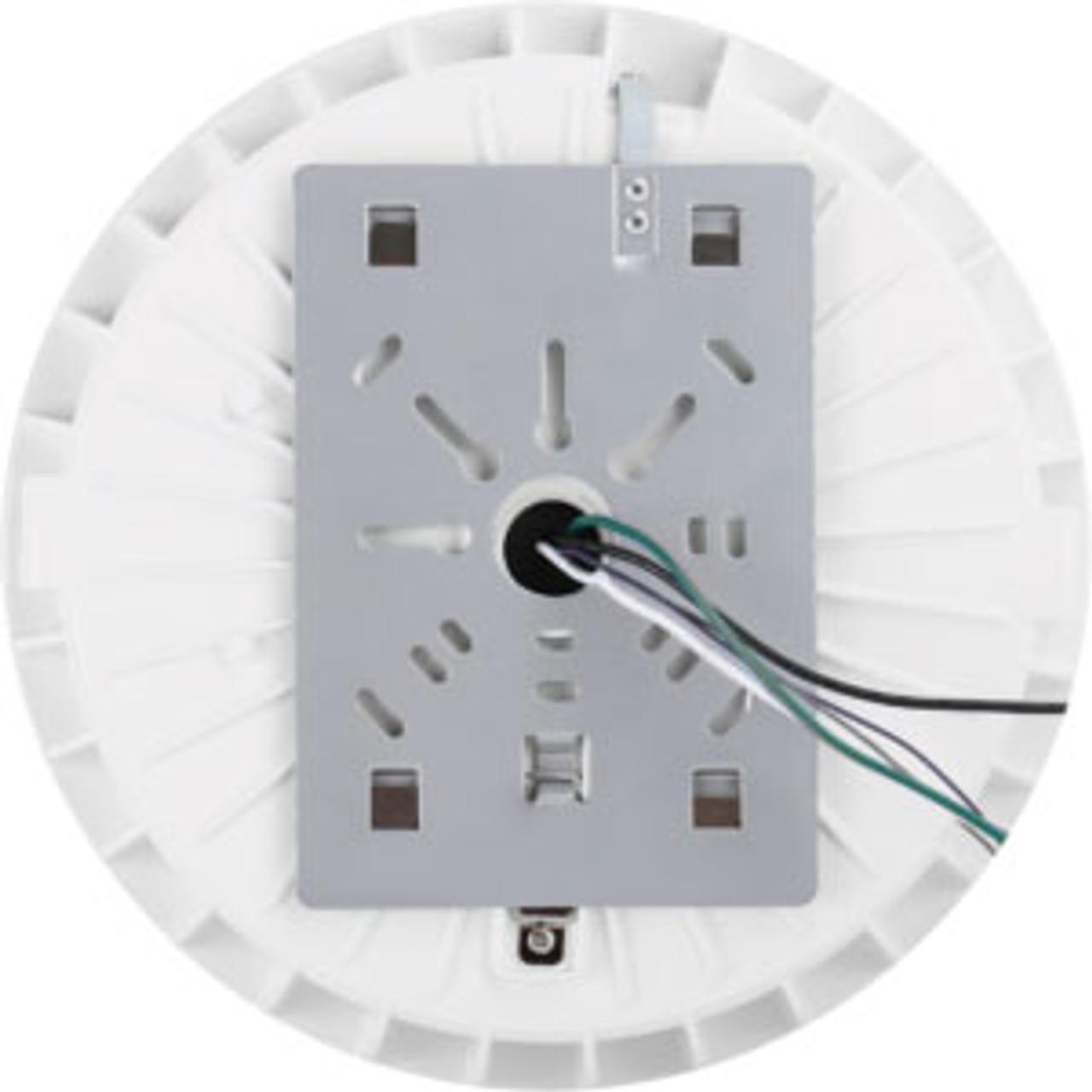 Round Canopy LED Light, 60 Watt, 7020 lumen, 5000 Kelvin, 100-277 volt, UL  and DLC Listed, (WHITE)