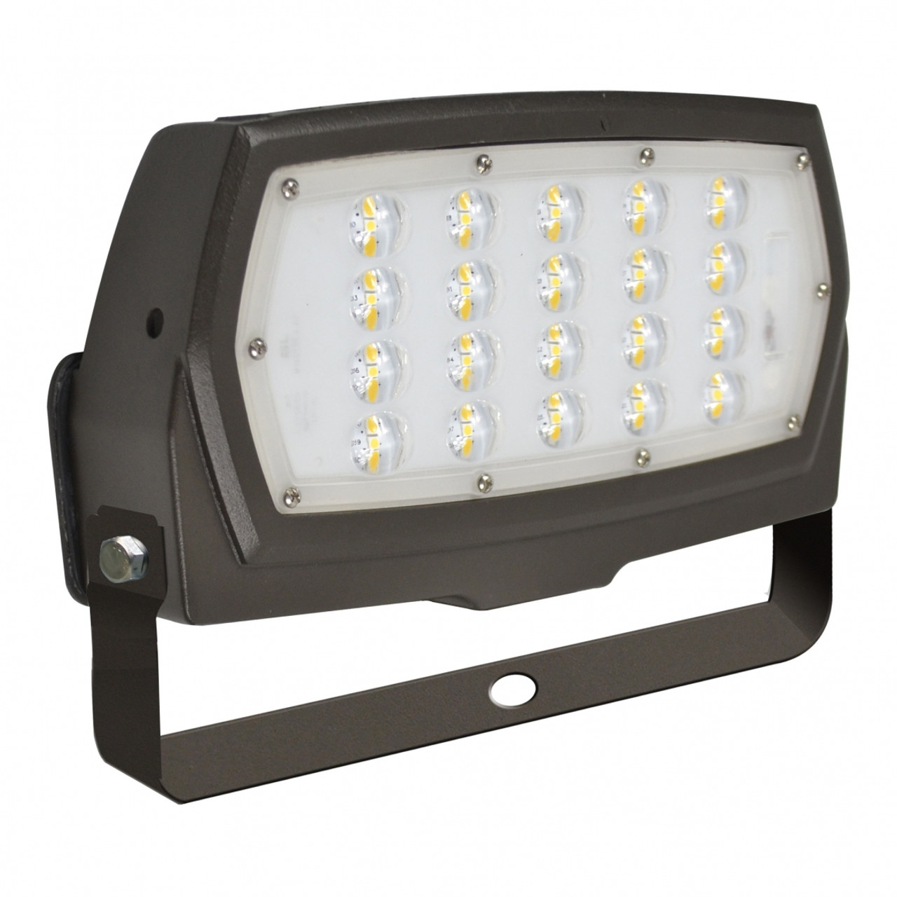 LED Slim Line Flood Light with Trunion Mount