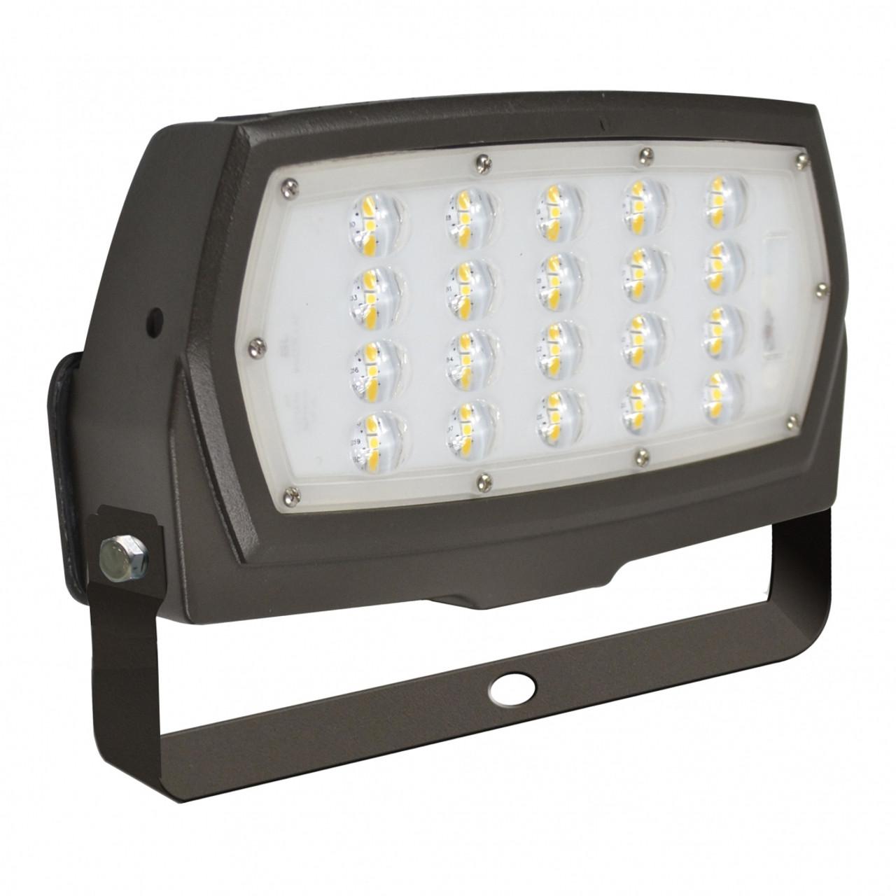 LED Slim Line Flood Light with Trunion Mount