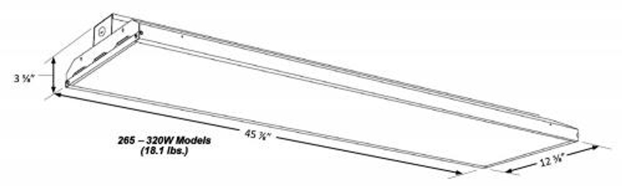 Slim Linear LED High Bay 320 LINE ART