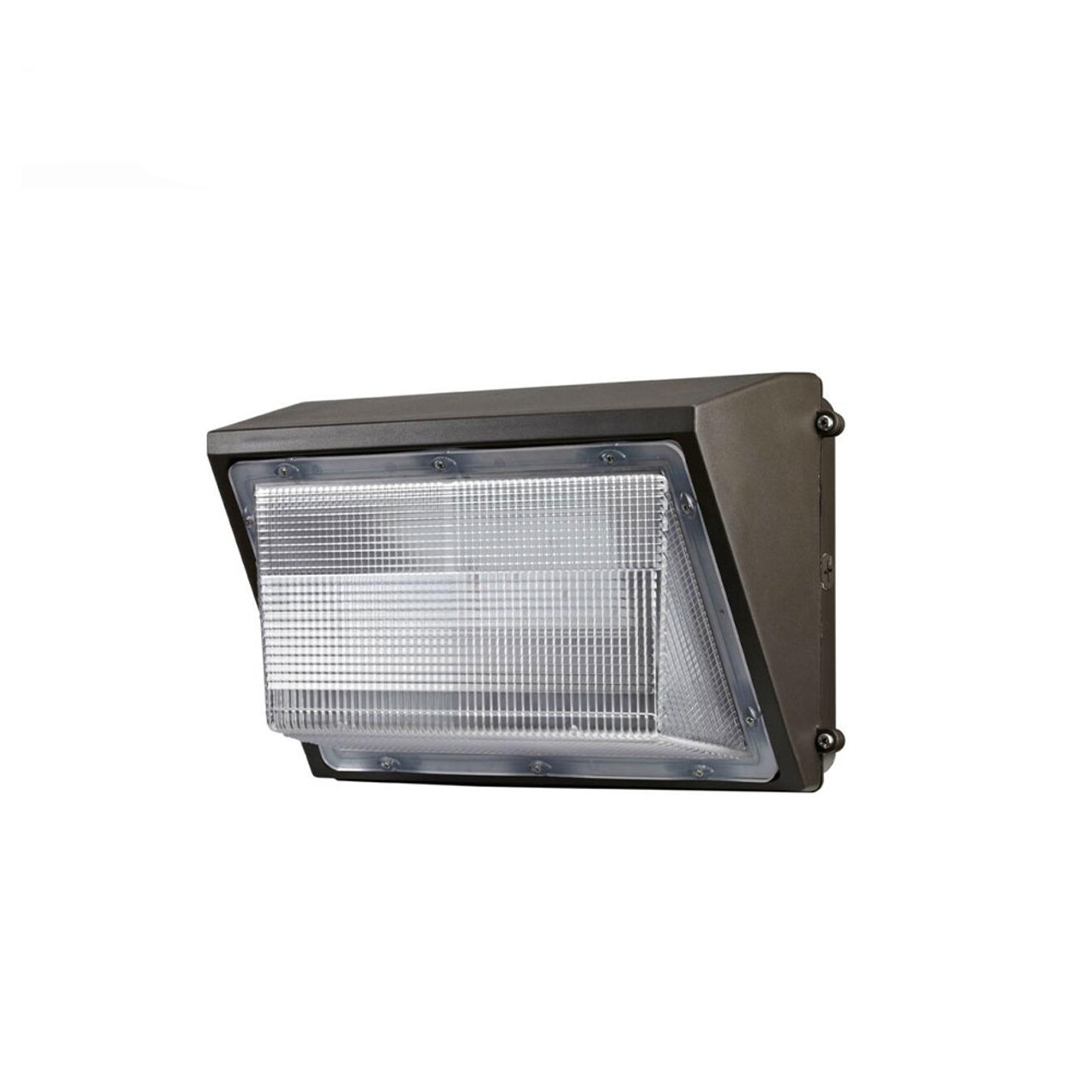Led wall pack 65 watt 7300 lumen 5000 kelvin 100 277 volt ul dlc listed
