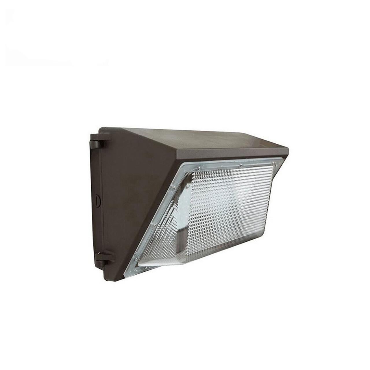 LED Wall Pack, 65 Watt, 7300 lumen, 5000 Kelvin, 100-277 volt, UL and DLC Listed