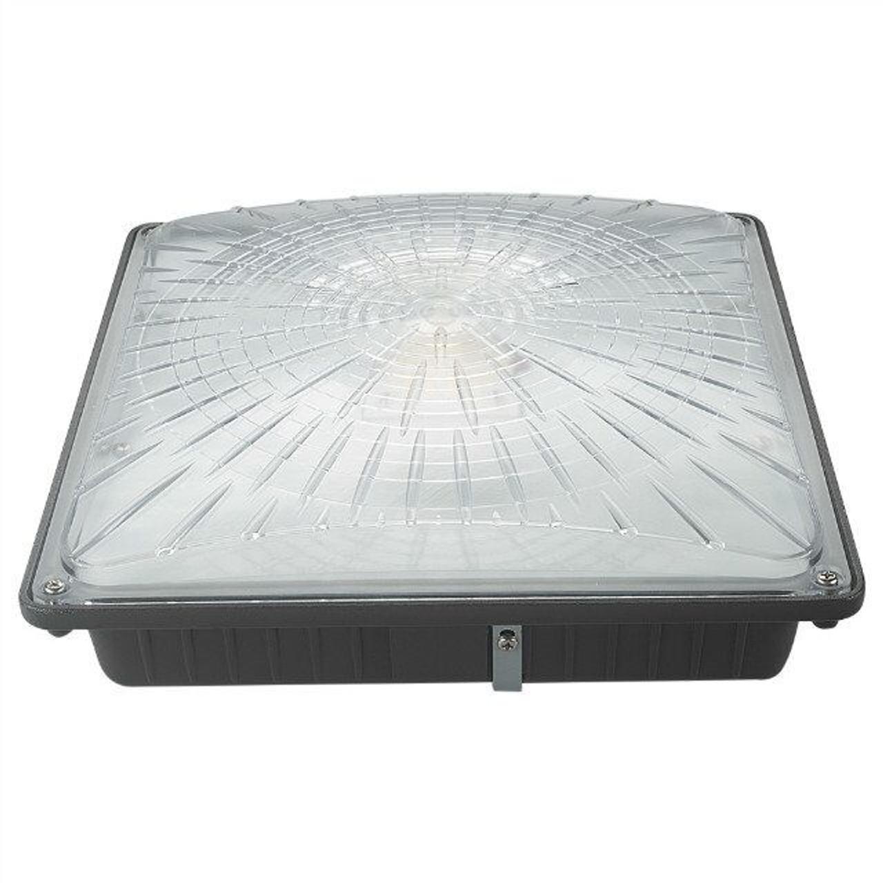Slim Line Canopy LED Light 40 Watt, 5000 lumen, 5000 Kelvin, 100-277 volt UL DLC Listed