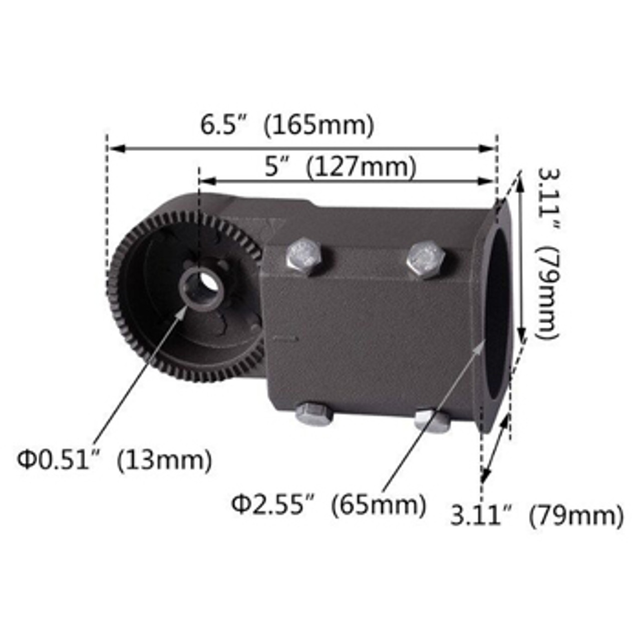 Adjustable Mount Slip Fitter Dimensions