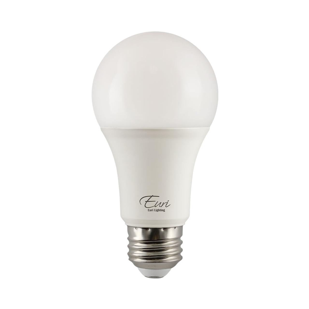 A19, Omni-Directional, LED Light Bulb, Dimmable, 15 W, 120 V, 1600 lm, 2700 K, E26 Base (EA19-15W2020e)