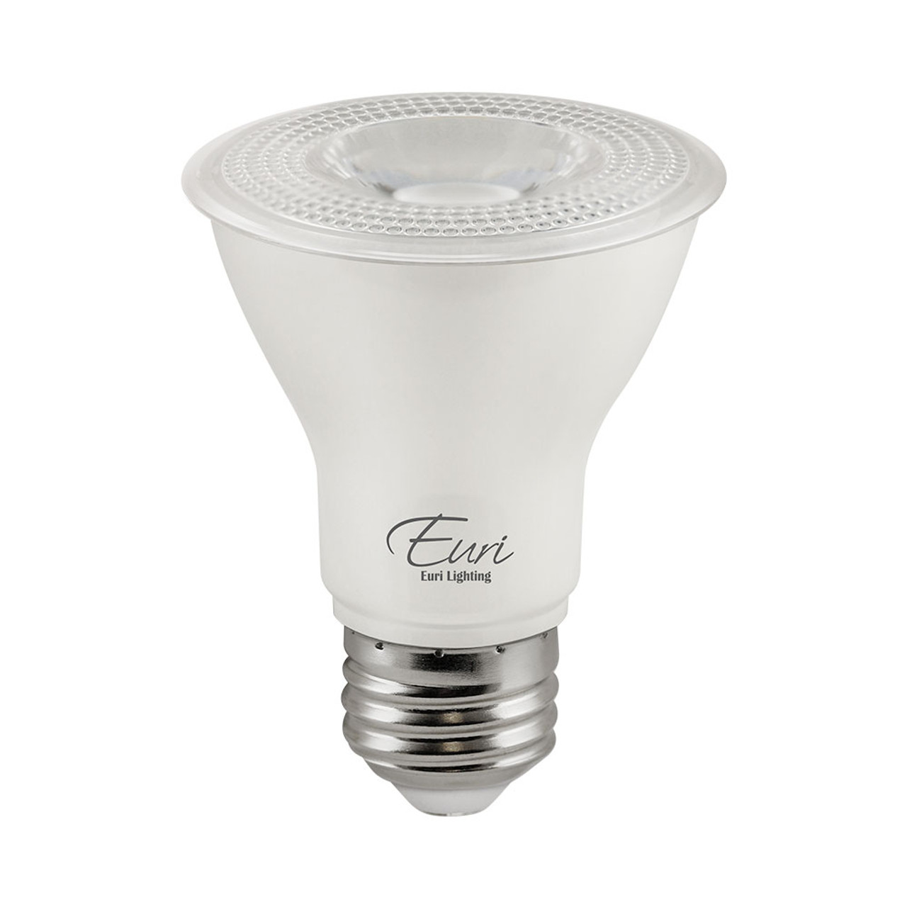 PAR20, Directional (Wide Spot), LED Light Bulb, Dimmable, 7 W, 120 V, 500 lm, 2700 K, Halogen Look, Value-Pack (Qty. 2), E26 Base (EP20-7W6020e-2)