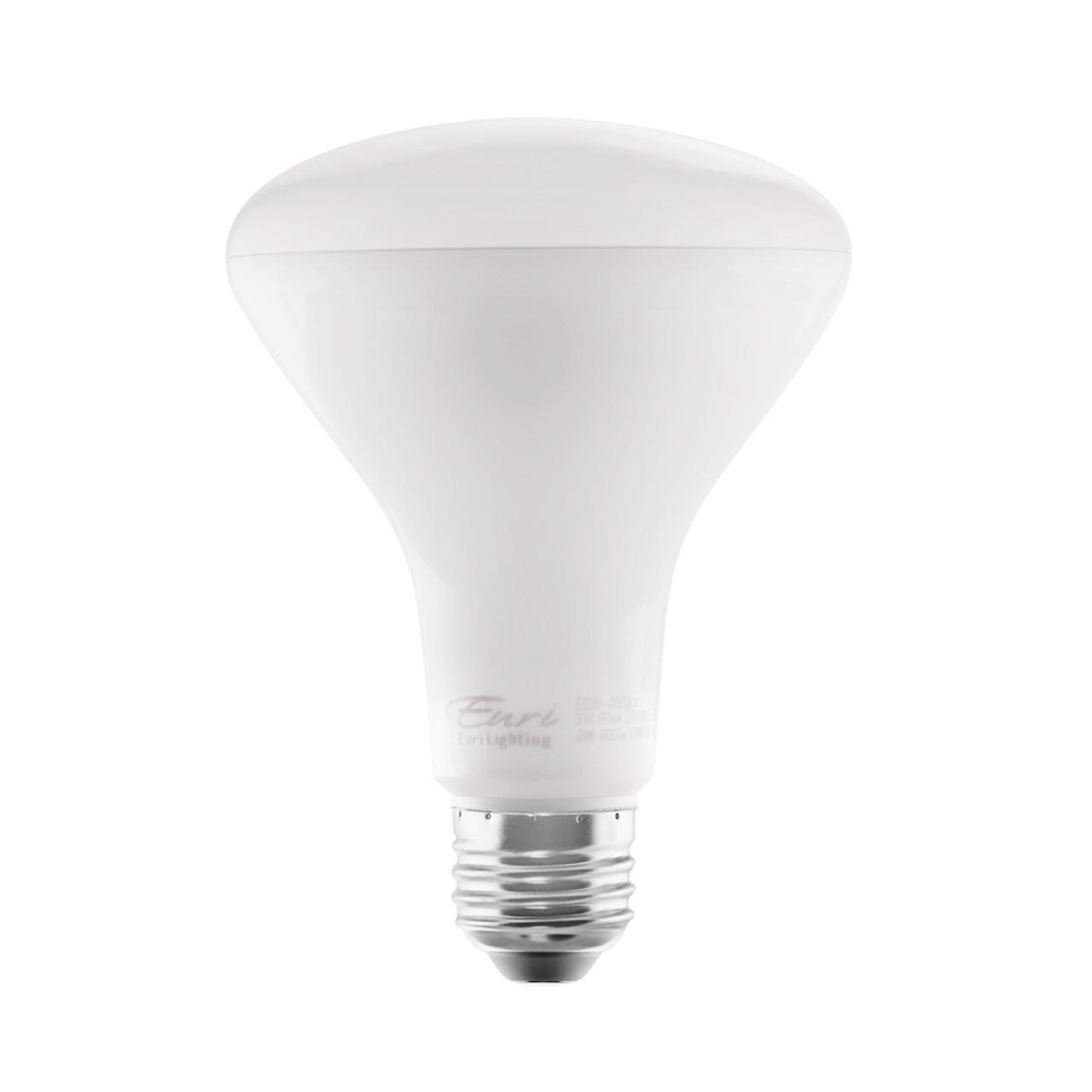 BR30, Directional (Flood), LED Light Bulb, Dimmable, 9 W, 120 V, 800 lm, 3000 K, E26 Base (EB30-5000cec)