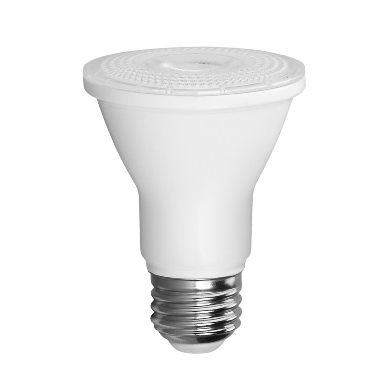 PAR20, Directional (Wide Spot), LED Light Bulbs, Dimmable, 5.5 W, 120 V, 500 lm, 5000 K, E26 Base (EP20-5050cecw-2)