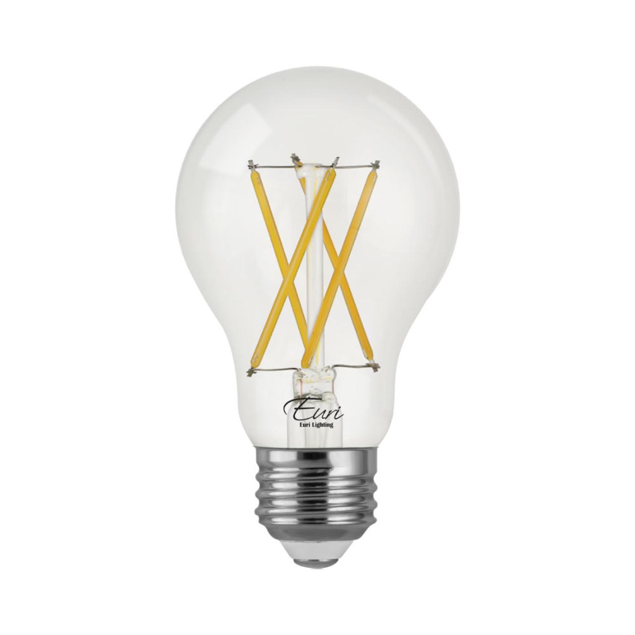 A19, Omni-Directional, LED Light Bulb, Dimmable, 8.5 W, 120 V, 800 lm, 3000 K, E26 Base (VA19-3000cec)