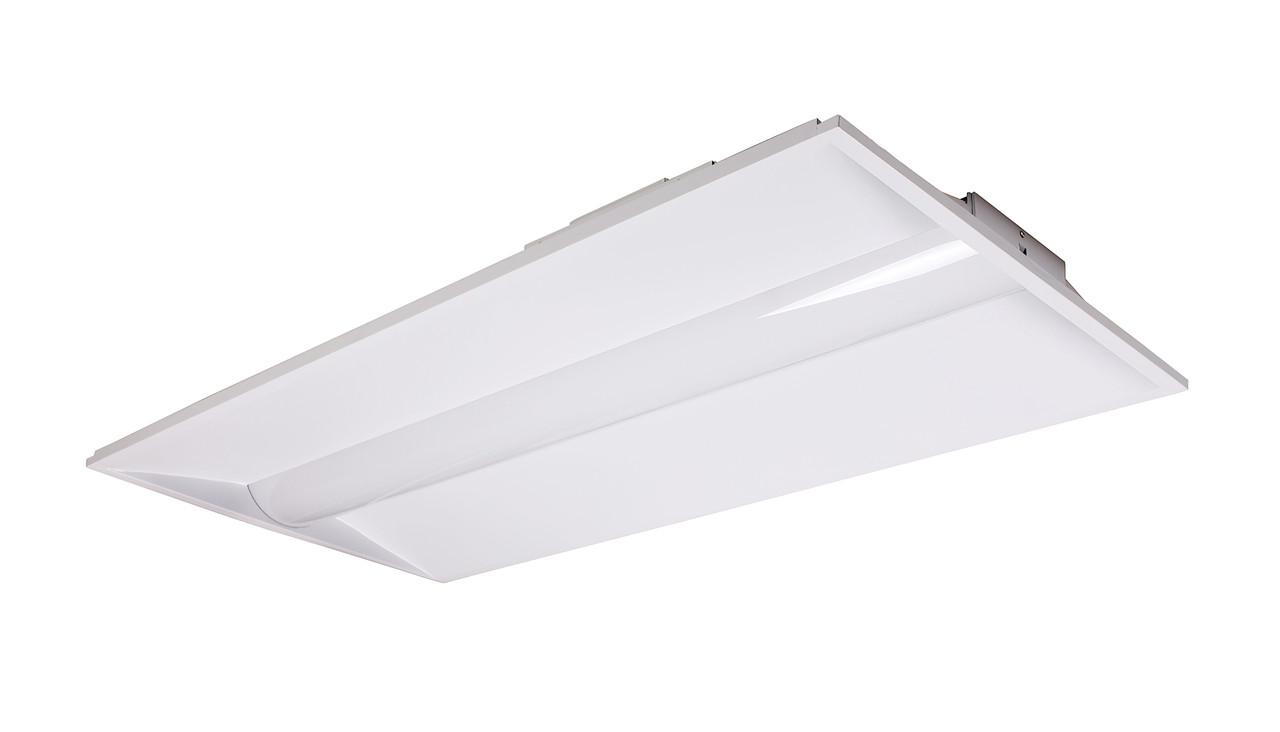 LED center basket luminaire, 2 ft x 4ft, 44 watt, 5680-5894 lumens, 3000K-5000K, 120-277V, DIM, UL and DLC Listed (AL-LEDPCB24-40)