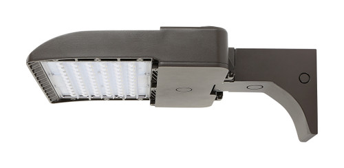 LED Shoe Box with pole and wall mount