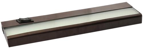 "12"" 5 Watt, 380 lumens, LED Linkable Under Cabinet - Bronze"