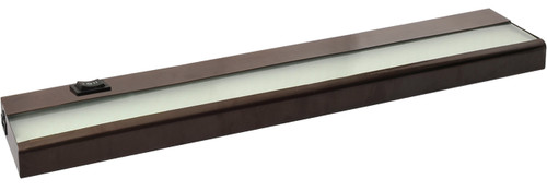 "21"" 7 Watt, 530 lumens, LED Linkable Under Cabinet - Bronze"