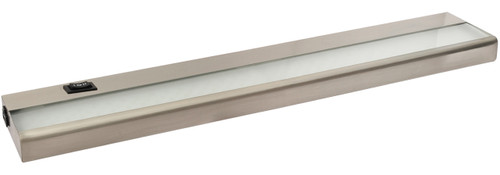 "21"" 7 Watt, 530 lumens, LED Linkable Under Cabinet - Nickel"