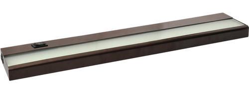 "24"" 9 Watt, 680 lumens, LED Linkable Under Cabinet - Bronze"