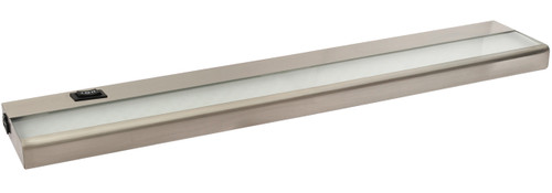 "24"" 9 Watt, 680 lumens, LED Linkable Under Cabinet - Nickel"