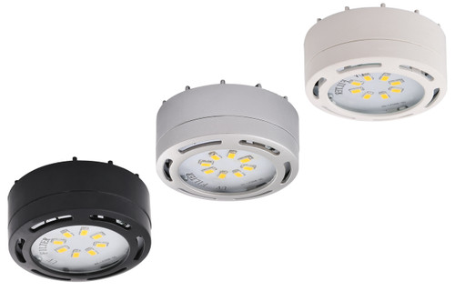 1- LED Puck Light 4 Watt, 275 lumens , 3000 kelvin